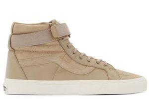 Van's men's 8.5 tan sneakers worn once